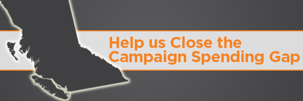 Close the Gap Email NDP to donors: We havent won anything yet